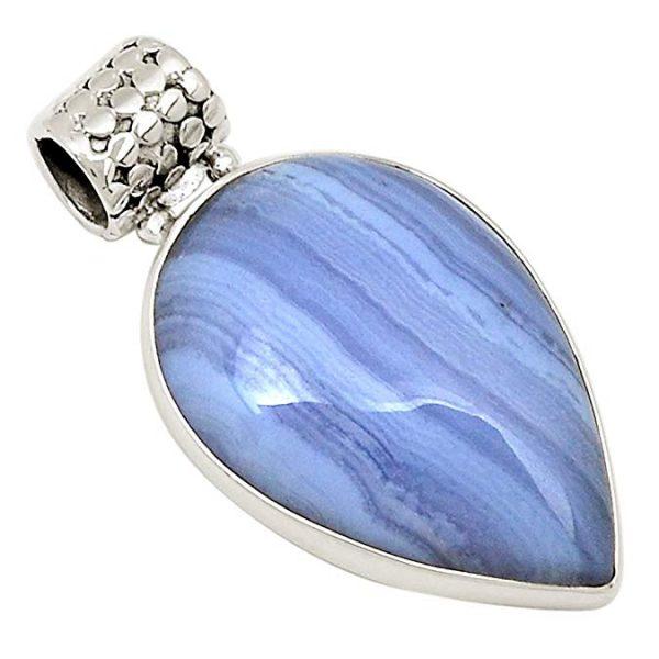 bluelacependant