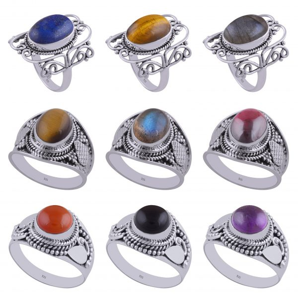 Wholesale 925 Sterling Silver Ring Mix Lot 100 Grams
