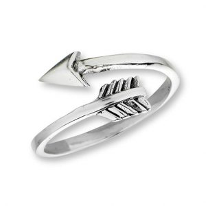 925 Sterling Silver Arrow Ring PSR50