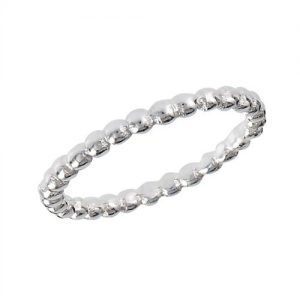 Best Seller - 925 Sterling Silver Bead Ring PSR38