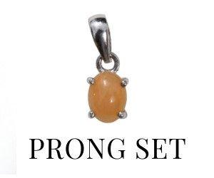 Prong Setting Pendants